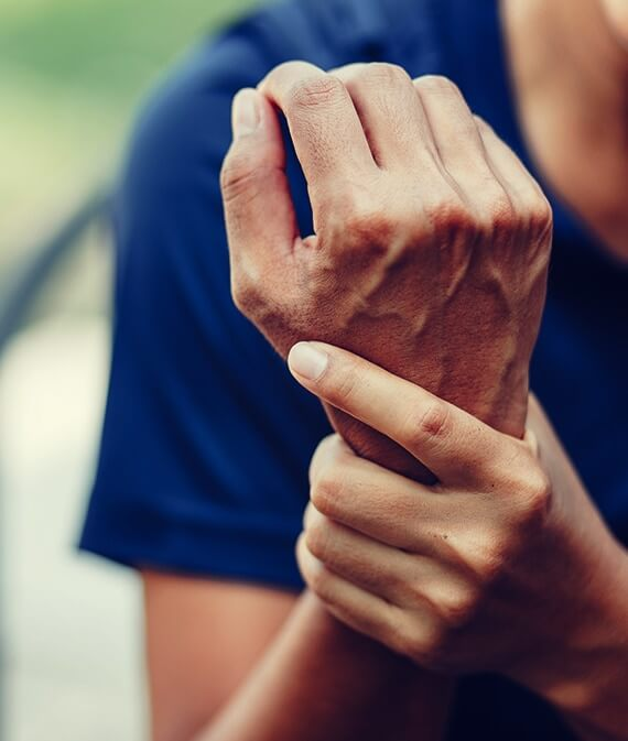 aching joints in wrist