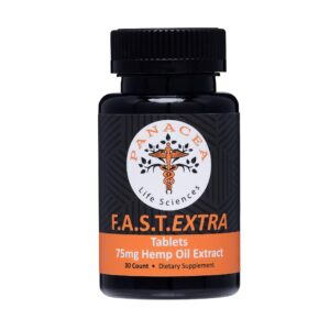 F.A.S.T. Extra 75mg Hemp Oil Tablets
