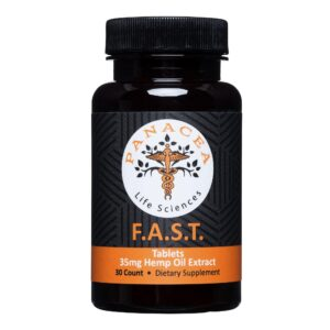F.A.S.T. 35mg Hemp Oil Tablets