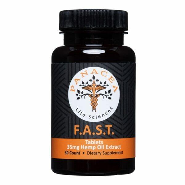 F.A.S.T. 35mg Hemp Oil Tablets