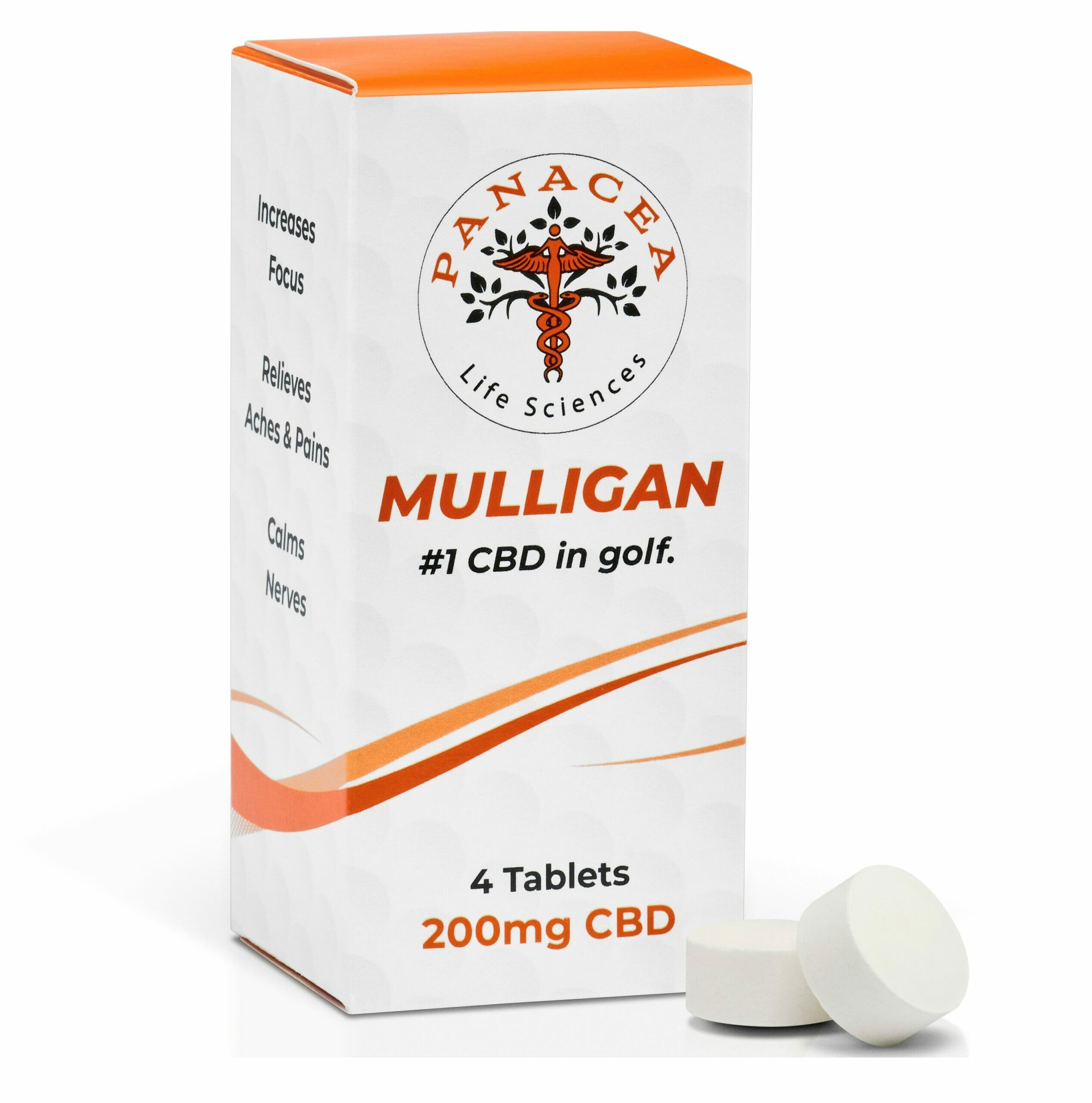 mulligan CBD tablets for Golf