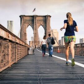 running on bridge took cbd for pain